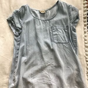 Anthropologie chambray